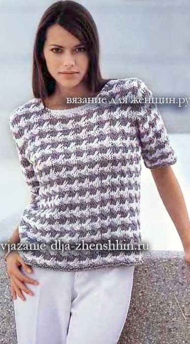 Вязаные кофты свитера