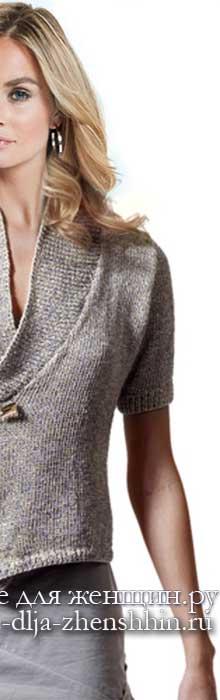 Вязаные кофты спицами 15 модных моделей для женщин с описанием