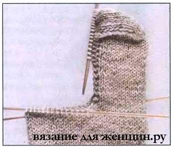 Носки спицами для начинающих