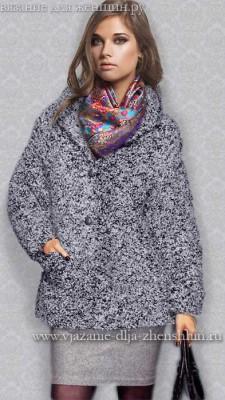 Модное вязаное пальто осень-зима 2016-2017