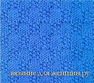 Красивый узор для вязаной кофты