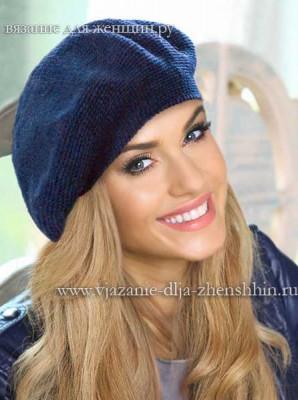 Фото вязаной шапки