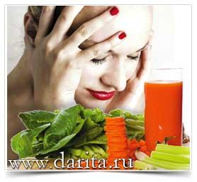 Старинные рецепты лечения головной боли