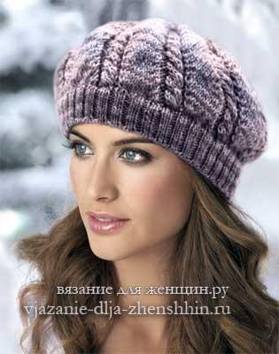 связать шапку спицами для женщины новые модели 2019 вязание шапки
