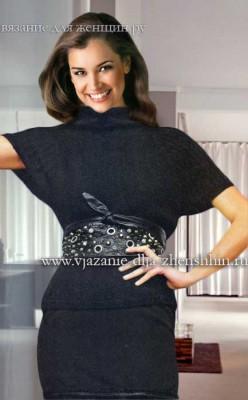 modnaja-vjazanaja-koftochka Вязаные кофты спицами 15 модных моделей для женщин с описанием