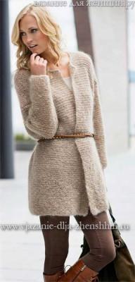 вязание спицами для женщин модные модели 2017 с описанием